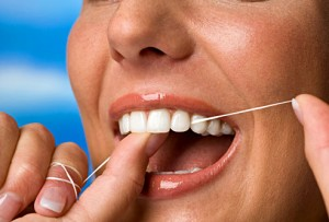 If You Dont Use Dental Floss Shorten Your Life By 63 Years Think Negative Thoughts About Dentist Who Tells To